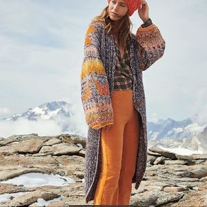 Free People Birds of a Feather Knit Cardigan